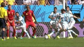 COPA 2014 - Argentina x Bélgica - MELHORES MOMENTOS