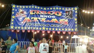 SHOW DE CIRCO DE LOS HERMANOS ATLAS