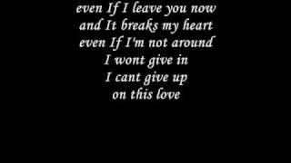 The Veronicas-This Love(LYRICS!)