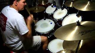 Round and Round Drum Cover (RATT)