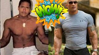 the rock Training for WWE