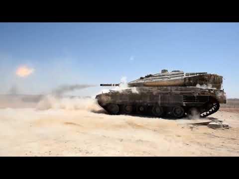 EJERCITO ISRAELI || Tanque Merkava 4 || Demostración De Poder En Ejercicios De Fuego Real || Disparo