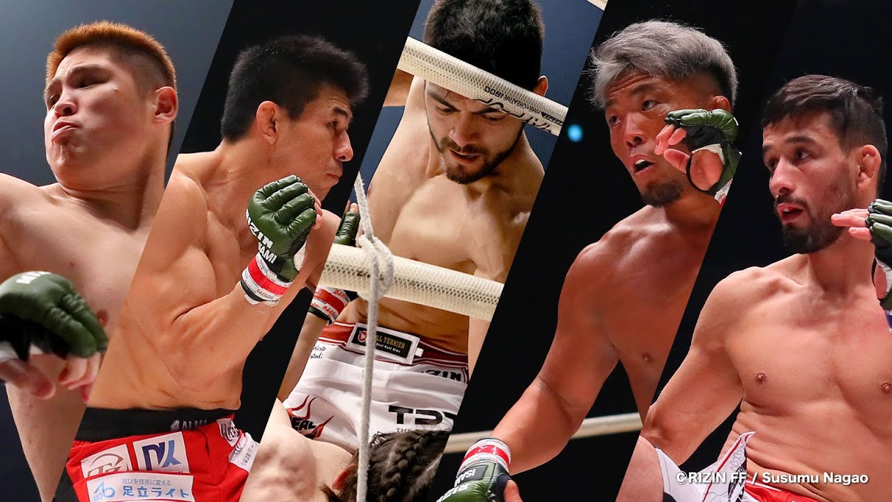 Highlights from fighters on RIZIN.27