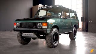 Range Rover Classic And Bring A Trailer Overlanding Challenge -- AFTER/DRIVE