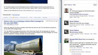 Real-time sharing in Google Reader