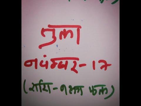 #नवंबर २०१७ ( तुला  राशि - नक्षत्र फल ) #  November 2017 Tula Rashi # Libra