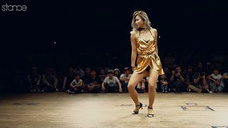 Junko Sasaki vs Chrissy Chou // .stance // Waacking FINAL at Freestyle Session Japan 2015