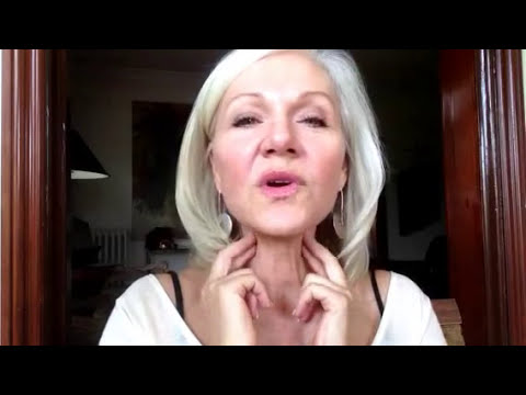 Sexy Over 50- Daily Lymphatic Drainage Massage How to get rid of baggy eyes