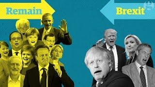 EU referendum explained: Brexit for non-Brits   Guardian Animations