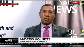 Jamaica Prime Minister Andrew Holness on BRICS