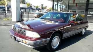 Touring Sedan Oldsmobile Nintey Eight 98 Sports Edition 1 Owner 1991