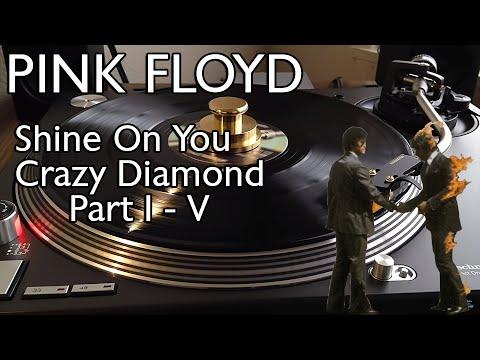 Pink Floyd - Shine On You Crazy Diamond I - V (1975 Original Pressing) - Black Vinyl LP
