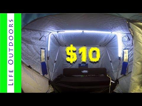 LED Ice Shack Lights For Under $10