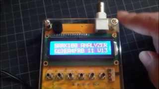 US$65 MR100 Shortwave Antenna Analyzer , SARK100 , MIINI60 DE JI8SDQ