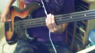 let s make love and listen death from above bass cover