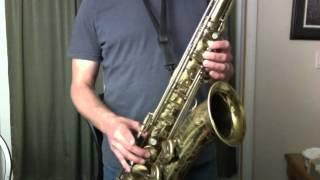 The Style of Michael Brecker Lesson 8-Alternate Fingerings Clip