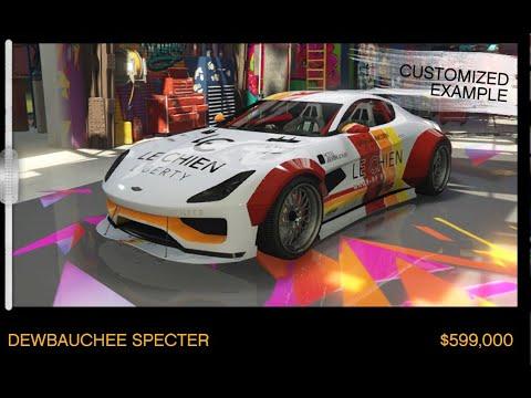 GTA Online - Dewbauchee Specter - Benny's Original Motor Works