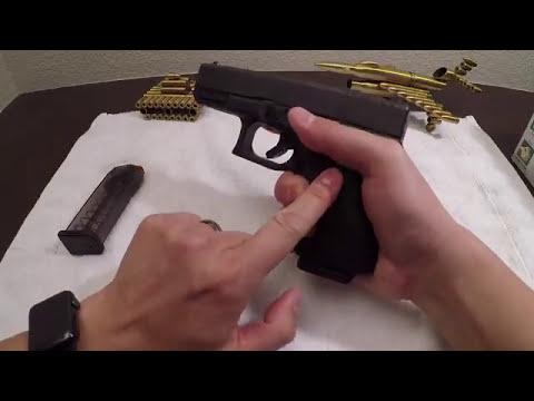 [安御枪械学院-国语] 半自动手枪基本操作(装弹-上膛-清膛-安全检查)