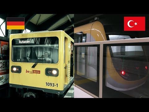 Germany Metro VS Turkey Metro