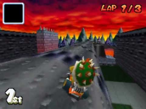 Mario Kart Ds Beta Bowser Castle Youtube