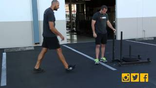 Heavy Sled Drags / Push For Building Serious Speed And Power