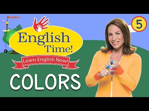 Colors - English Time!