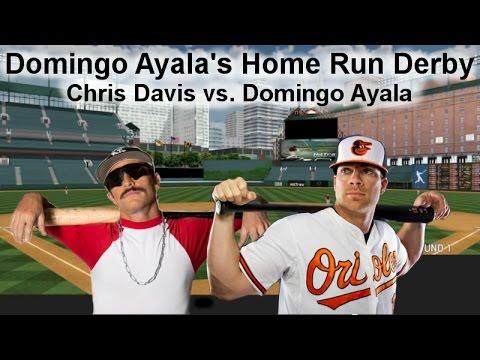 Chris Davis Vs Domingo Ayala Home Run Derby