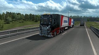 A Ride With The B Double Trailer! (Euro Truck Simulator 2)