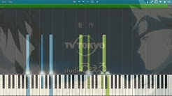 """Naruto Shippuden - Opening 2 """"Distance"""" - Synthesia Piano HD"""