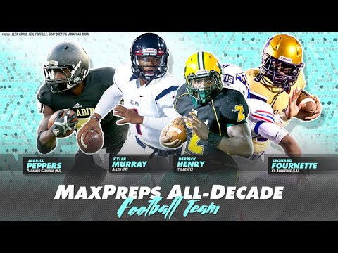 All-Decade High School Football Team