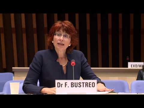 WHO: Dr Flavia Bustreo at the Director-General candidates forum