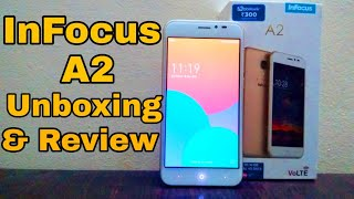 Infocus A2 Unboxing & Hands on Review (Better then Redmi 5A)