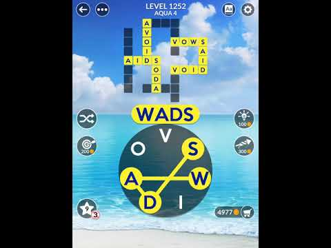 Wordscapes Level 1252 Answers