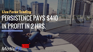 Live Forex Trading | Euro Re-entery Then POP, $410!