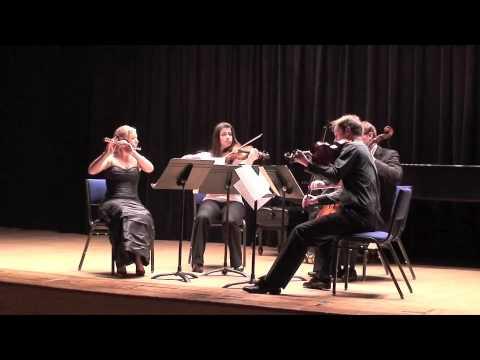 Mozart Flute Quartet in D Major - Movement 1