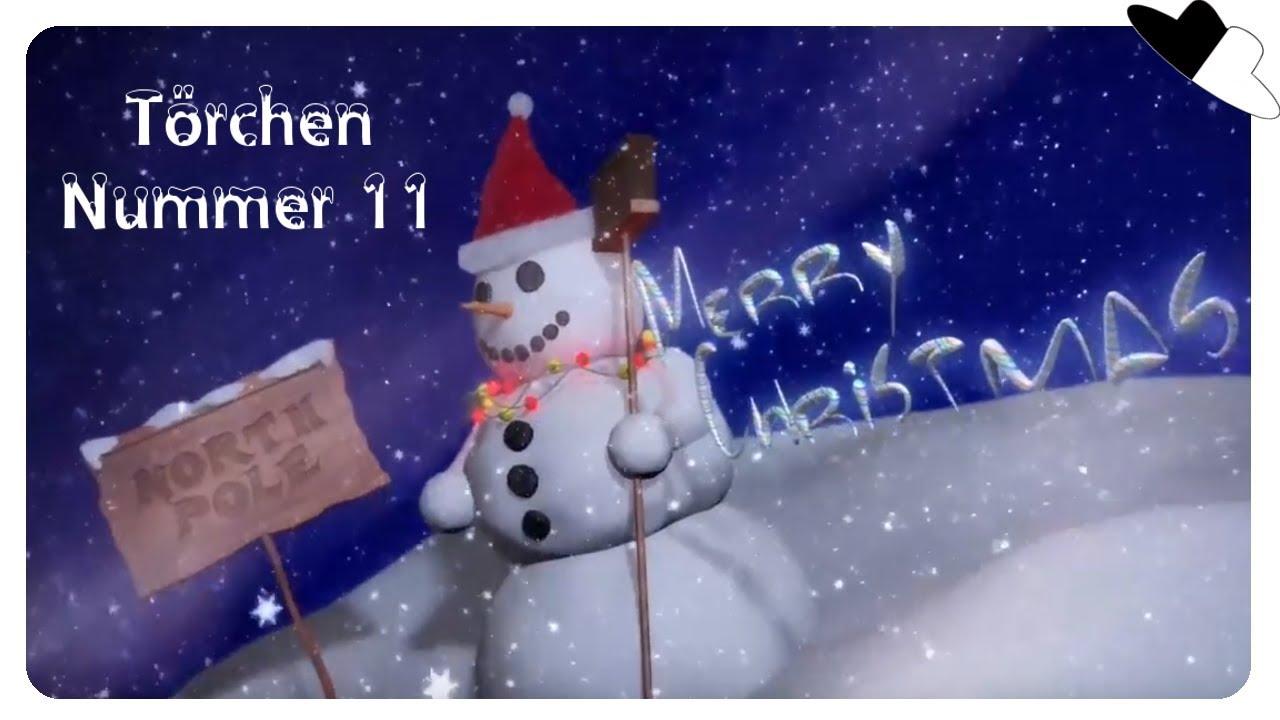 Adventskalender 2018 - Törchen Nummer 11 - Weihnachten 2018 Special ...