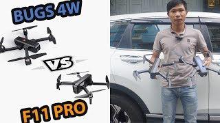 So Sánh Flycam Mjx Bugs 4W Với Sjrc F11 Pro - JOLAVN