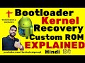 Hindi Urdu Bootloader, Kernel, Recovery, ROM Explained in Detail