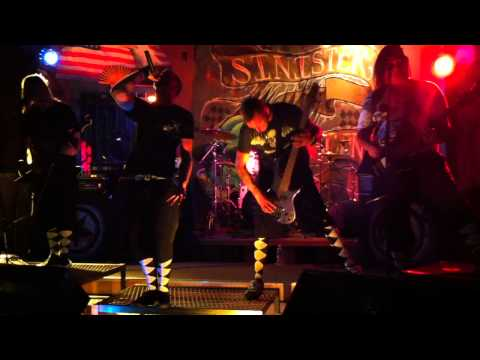 SINISTER SCENE - Opening for Tallboy in Rogue River Oregon