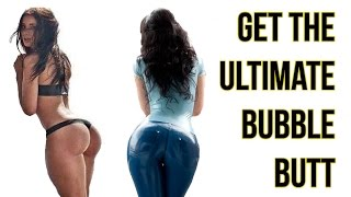 4 Bigger Butt Workout | Get The Perfect Bubblicious Butt With This Routine!