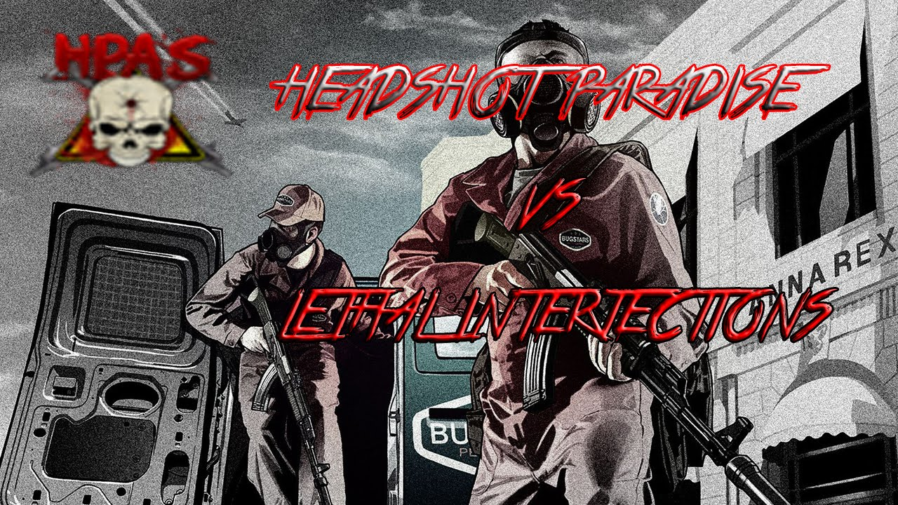 GTA V Online Crew Battle: Headshot Paradise Vs. Lethal ...