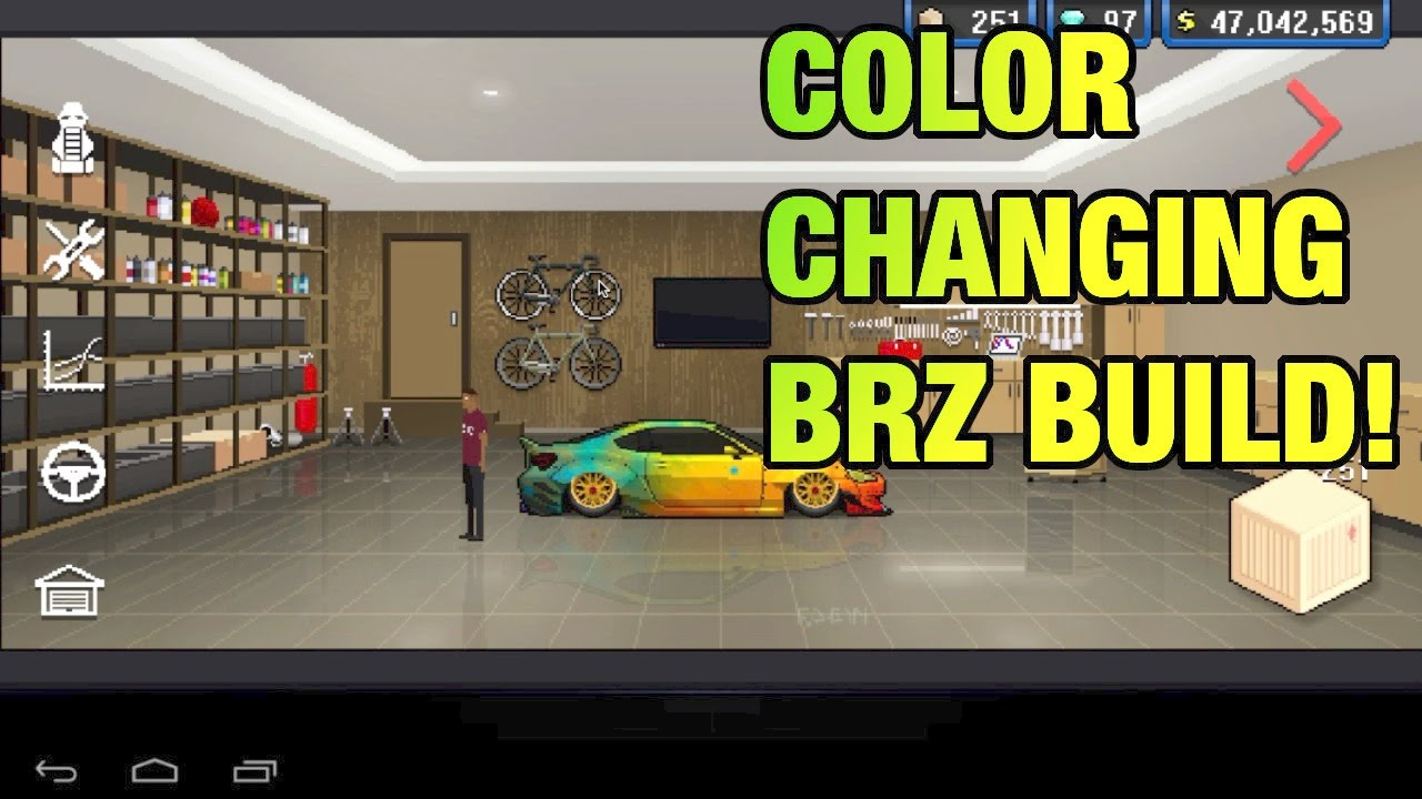 Colour changing car technology - Pixel Car Racer Color Changing Brz Build