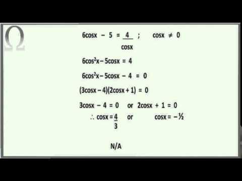 General Solution - Grade 11 Trigonometry