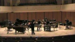 Journey for Marimba, Piano, and Percussion Ensemble