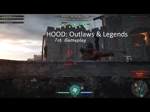 HOOD Outlaws & Legends - 1st Gameplay |