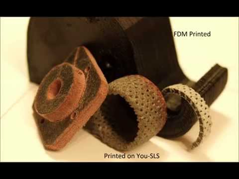 You-SLS Open Source Laser sintering 3D Printer