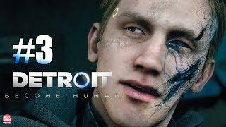 DETROIT BECOME HUMAN: #3 - ANDROID PSICOPATA? AMIGO OU INIMIGO?    Gameplay em Português no PS4 Pro