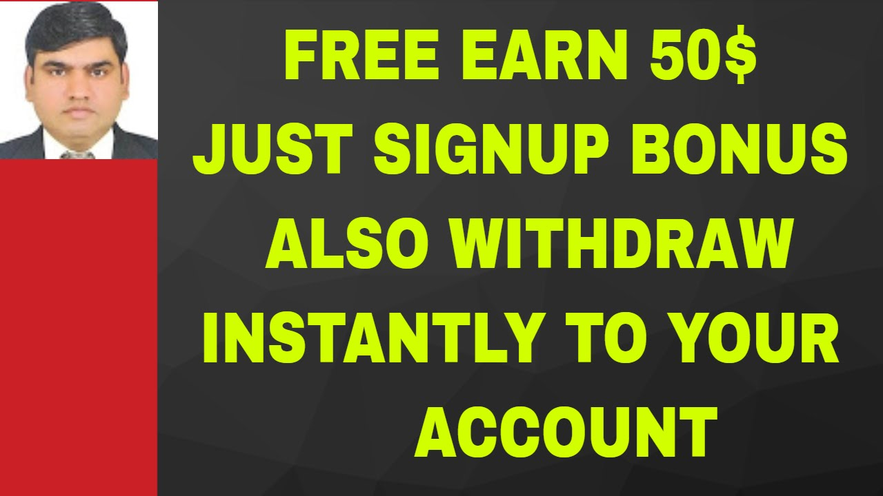 Free Sign-Up Bonus