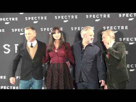 Spectre: Italy Red Carpet Movie Premiere - Daniel Craig, Monica Bellucci