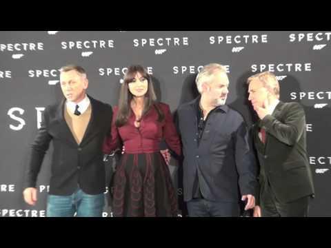 Spectre: Italy Red Carpet Movie Premiere - Daniel Craig, Monica Bellucci | ScreenSlam